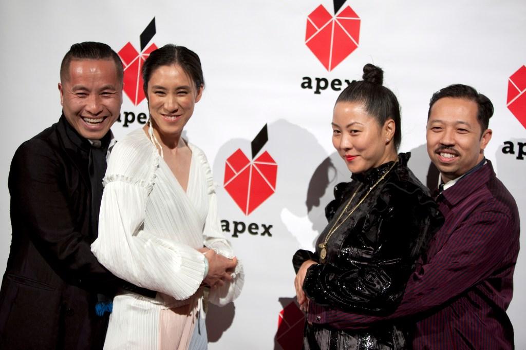 Phillip Lim, Eva Chen, Carol Lim, Humberto Leon