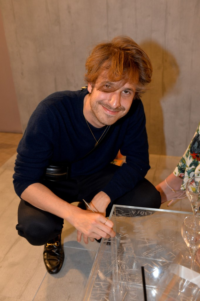 Ignasi Monreal scratching Kartell's Ghost collection
