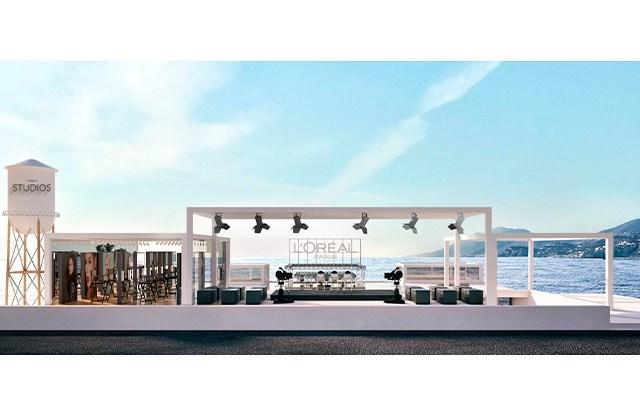 "A rendering of the set for L'Oréal Paris' ""Worth It"" talk show."