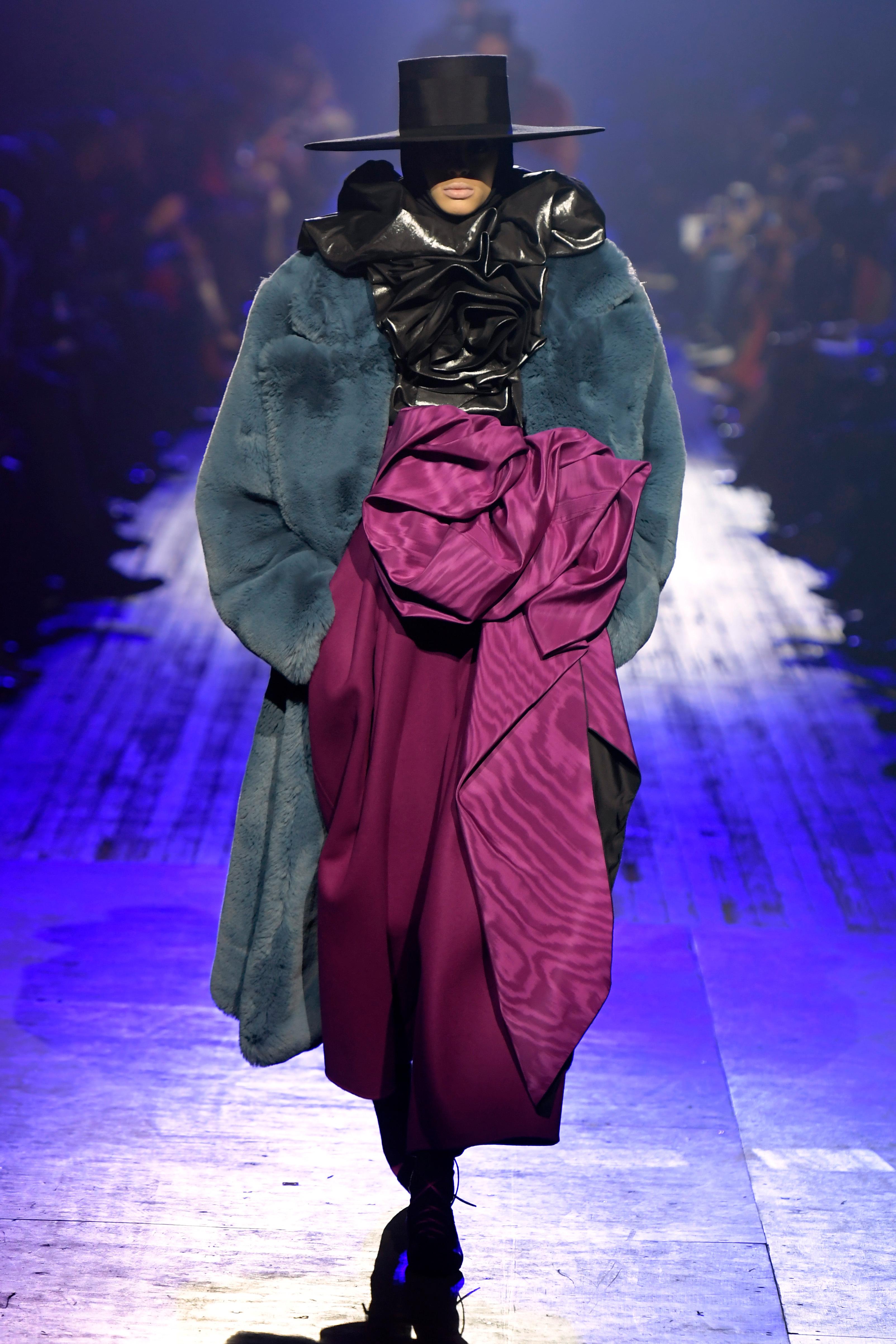 Model on the catwalkMarc Jacobs show, Runway, Fall Winter 2018, New York Fashion Week, USA - 14 Feb 2018