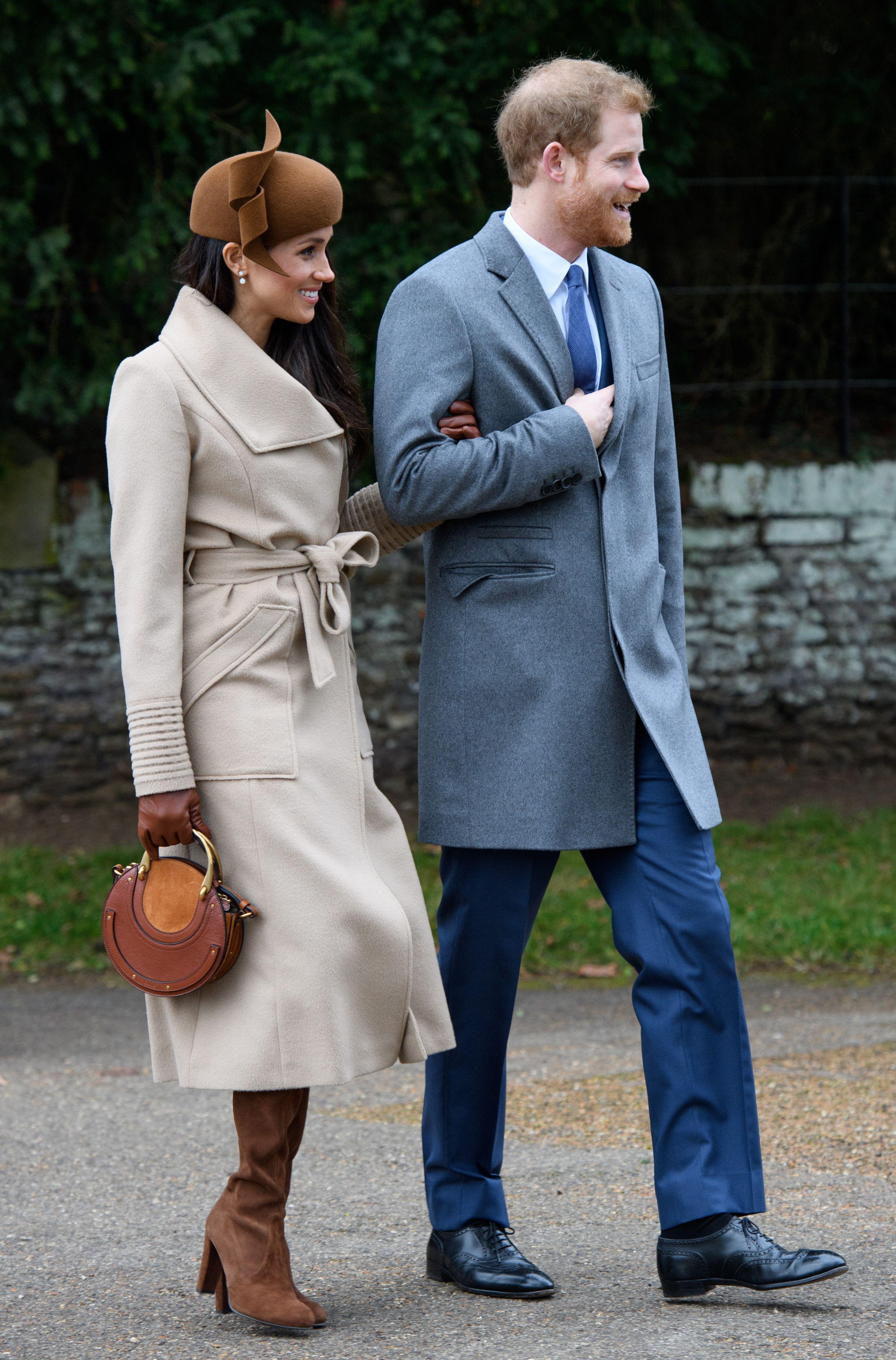 Meghan Markle and Prince HarryChristmas Day church service, Sandringham, Norfolk, UK - 25 Dec 2017