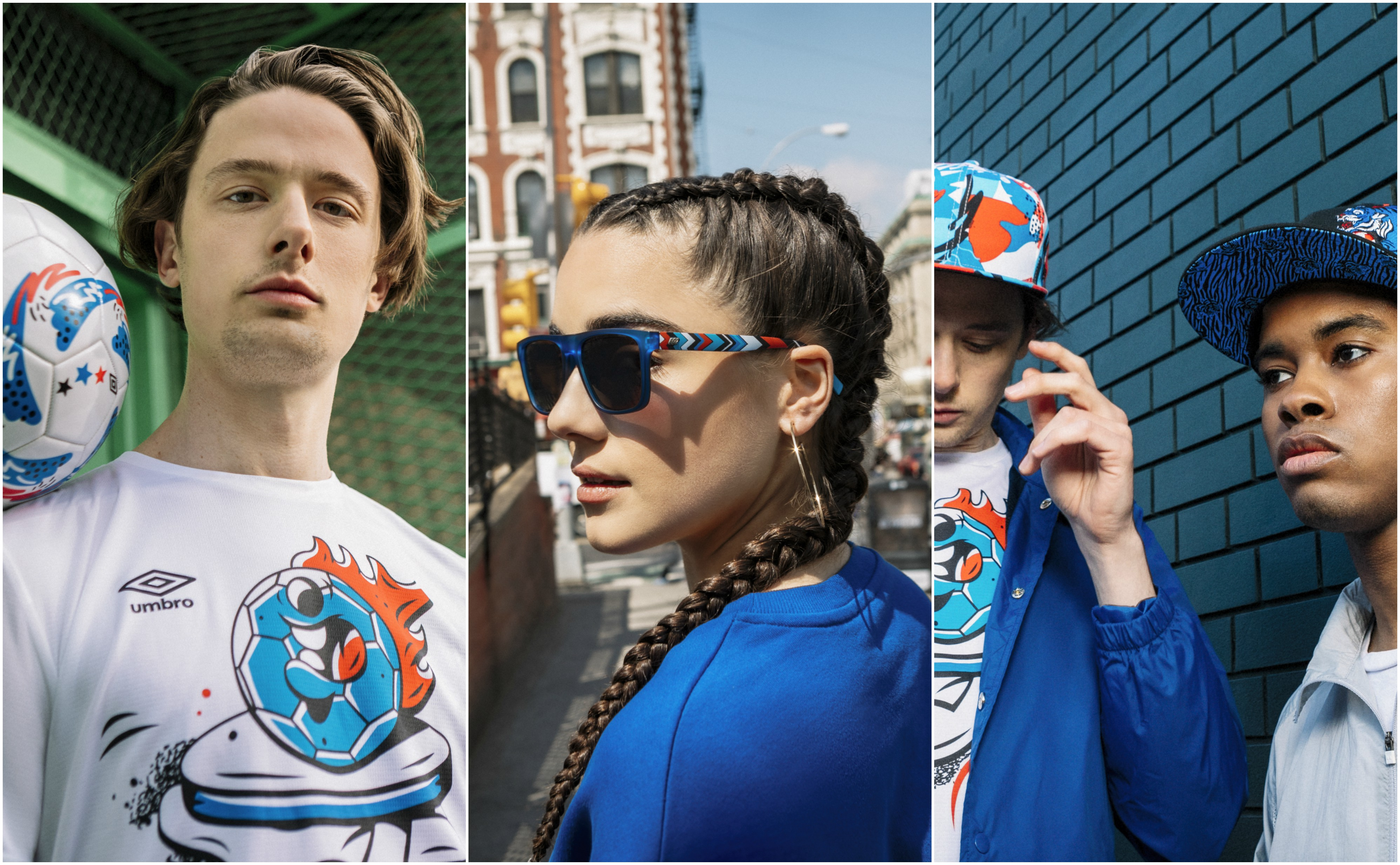 Pieces from the 2018 Pepsi Art of Football capsule collection.