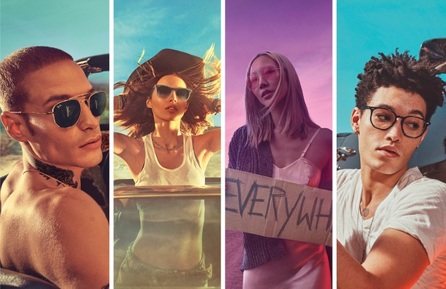 Ray-Ban campaign images shot by Steven Klein