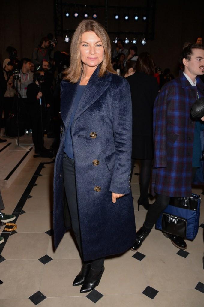 Natalie MassanetBurberry Prorsum fashion show, London Collections: Men, Autumn Winter 2015, London, Britain - 12 Jan 2015