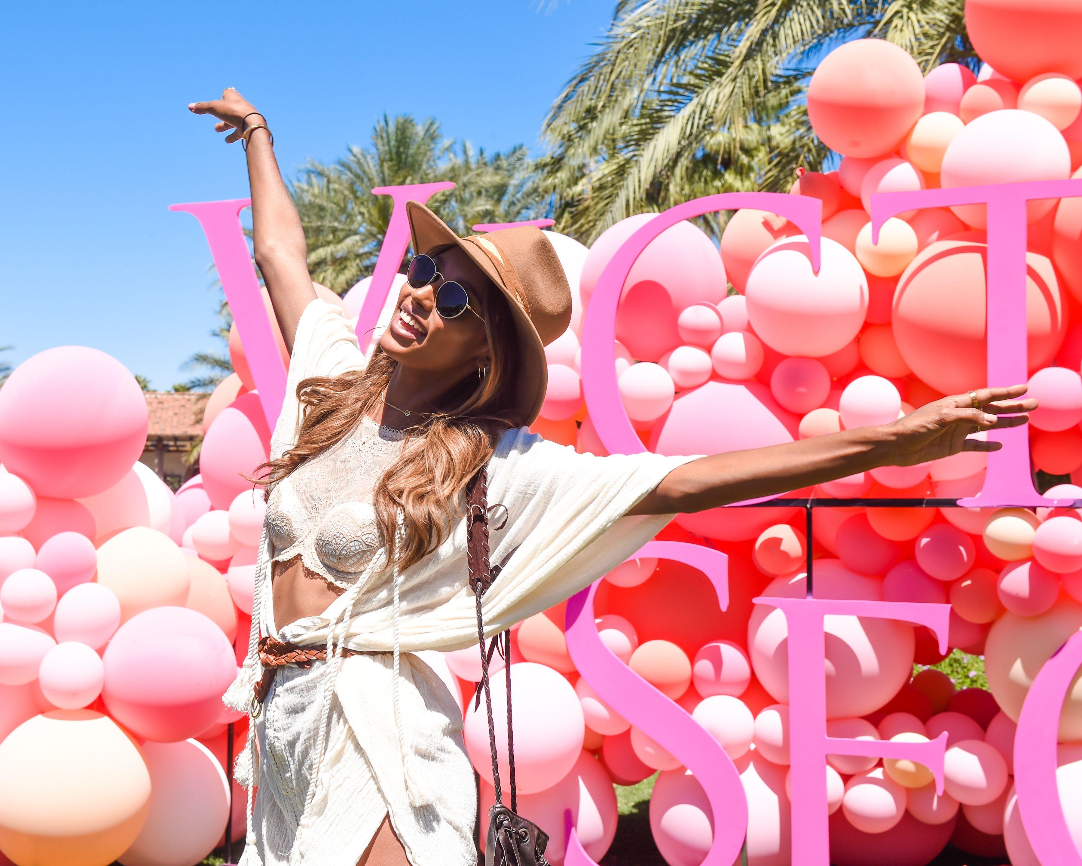 Jasmine TookesVictoria Secrets 'Angel Oasis', Coachella Valley Music and Arts Festival, Palm Springs, USA - 14 Apr 2017