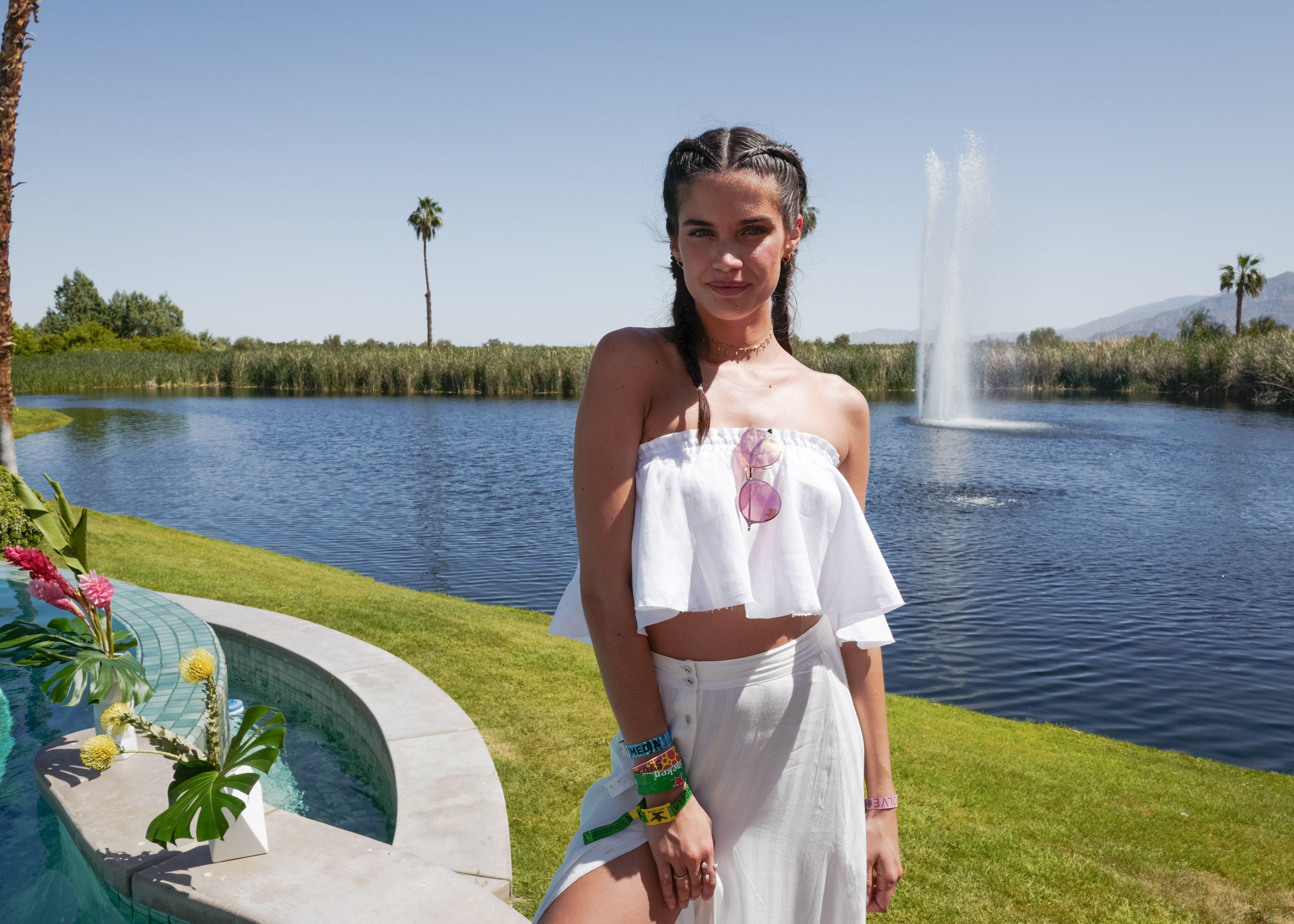 Sara SampaioREVOLVE festival, Coachella Valley Music and Arts Festival, Palm Springs, USA - 15 Apr 2017