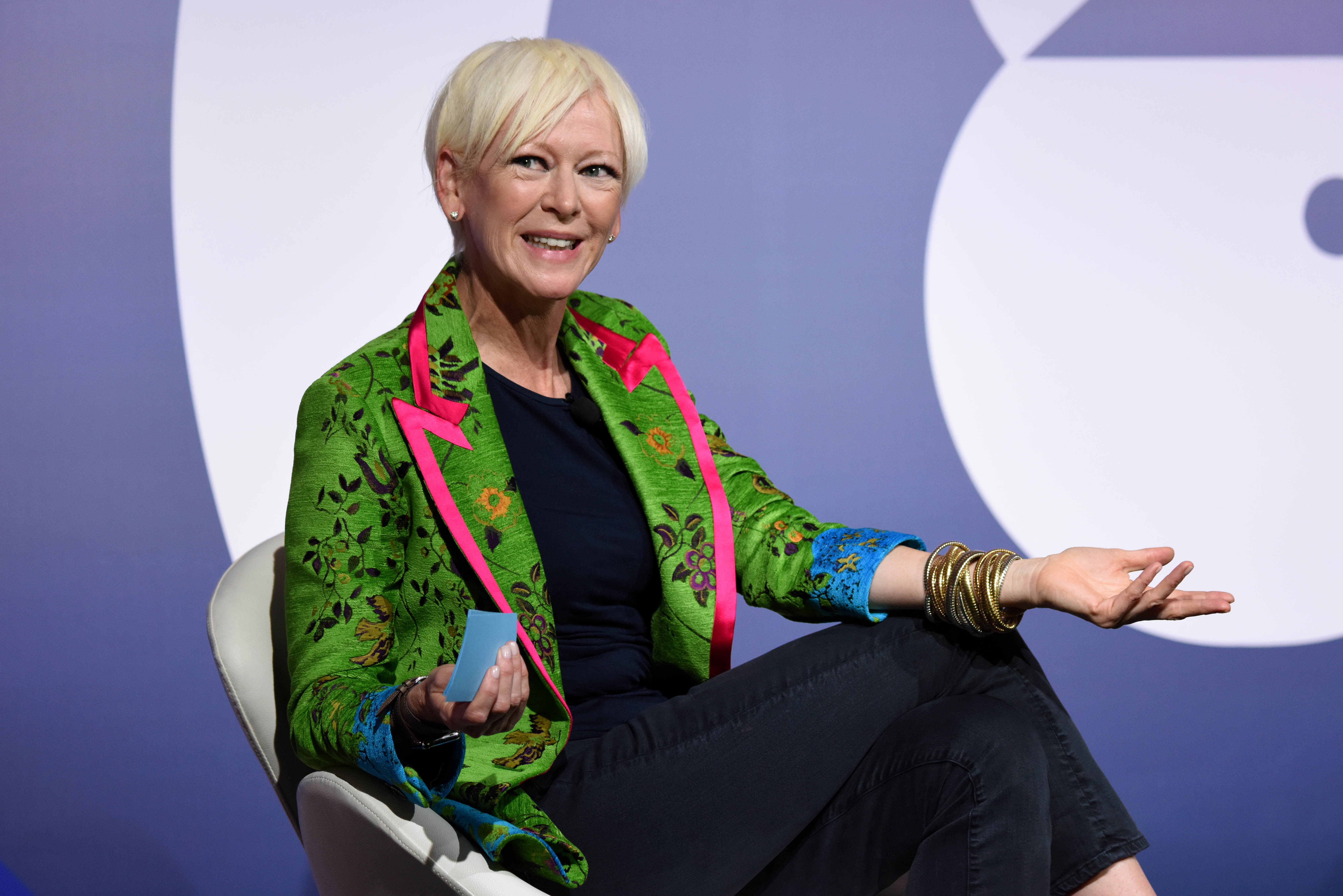 Joanna Coles (Chief Content Officer, Hearst)Town Hall Series: Snap's Imran Khan with HBO's Richard Plepler in conversation seminar, Advertising Week New York 2017, PlayStation East Stage, PlayStation Theater, New York, USA - 28 Sep 2017