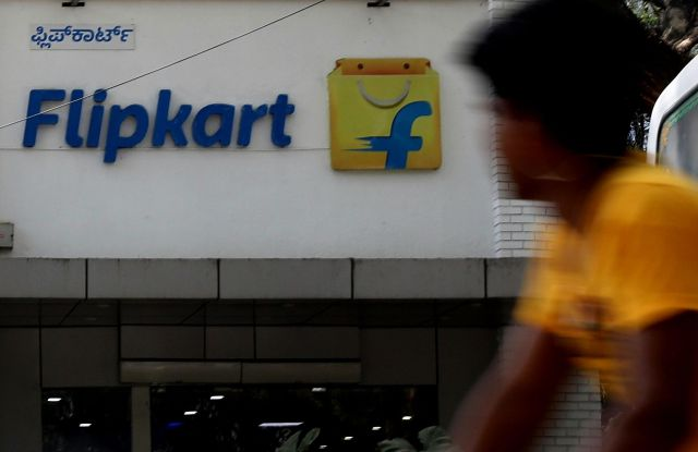 A general view of an office of e-commerce company Flipkart, in Bangalore, India, 17 February 2018. According to reports, the United States retailer Walmart Inc is in talks to buy a stake of more than 40 percent, valued at more than the 12 billion US dollars, and will be the biggest deal overseas by Walmart.Indian e-commerce firm Flipkart in Bangalore, India - 17 Feb 2018