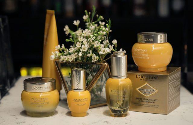 L'occitane products.