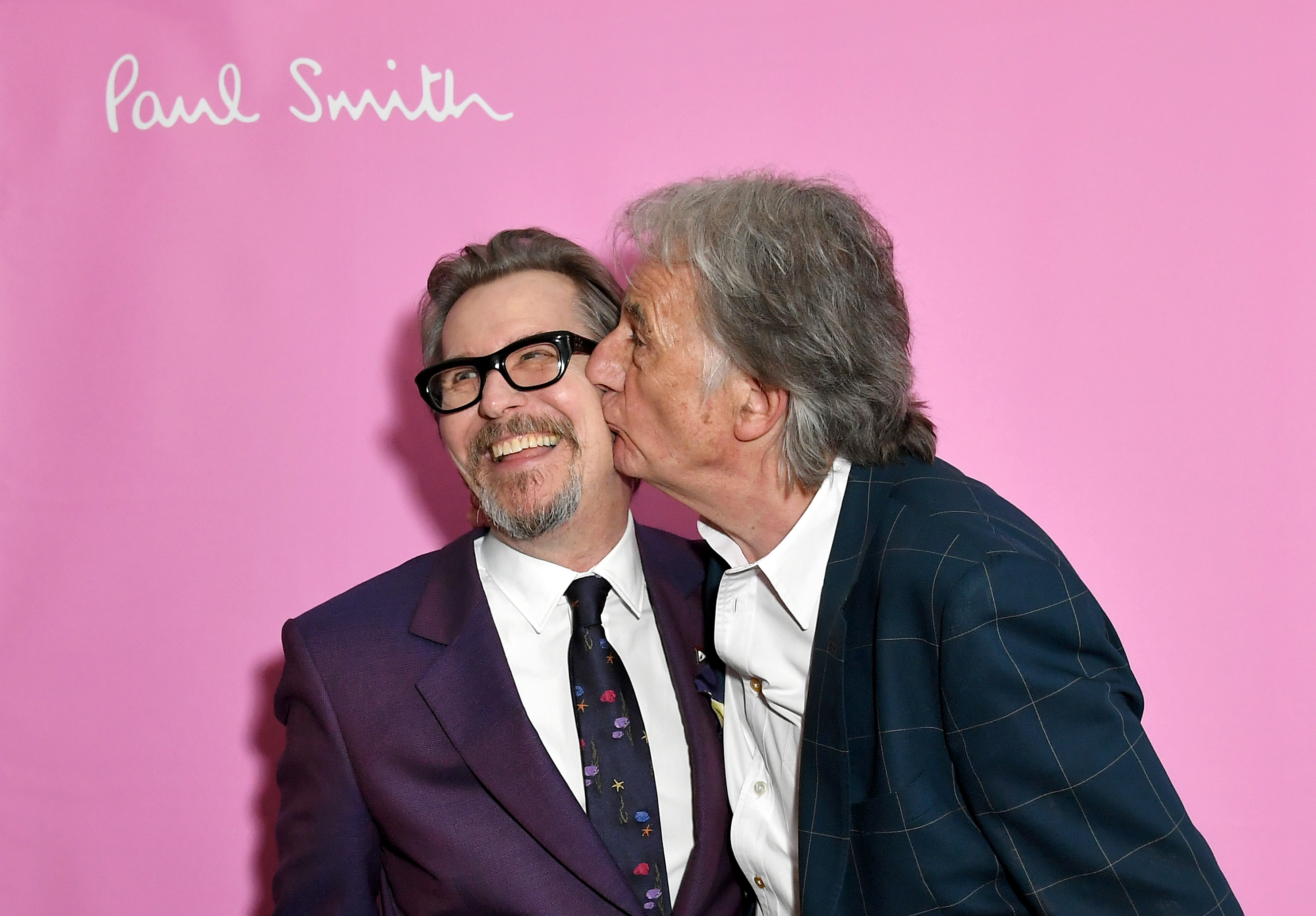 Gary Oldman and Paul SmithSir Paul Smith x Gary Oldman Cocktails Chateau Marmont, Los Angeles, USA - 10 Apr 2018
