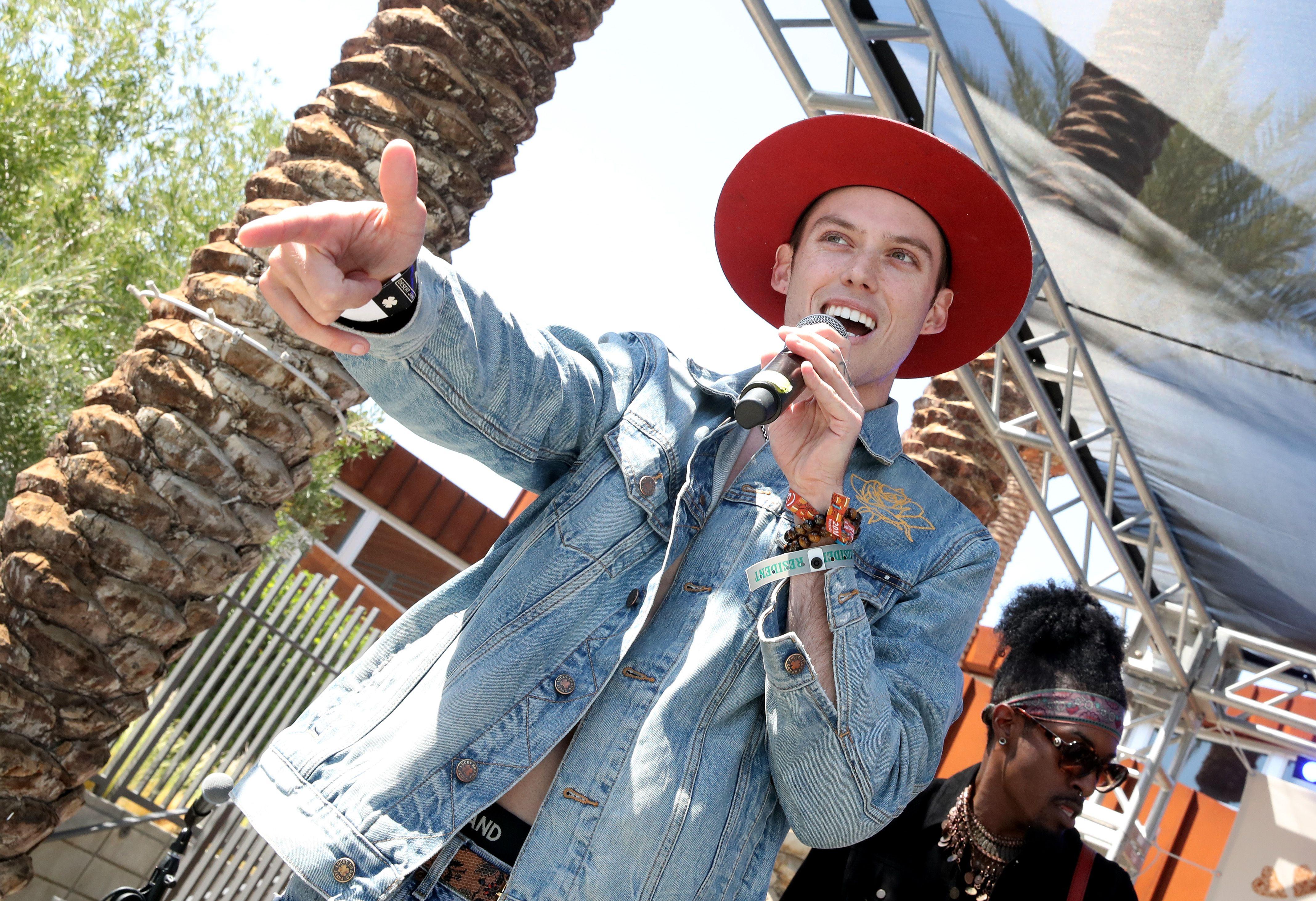 Harry HudsonLucky Desert Jam, Coachella Valley Music and Arts Festival, Palm Springs, USA - 14 Apr 2018