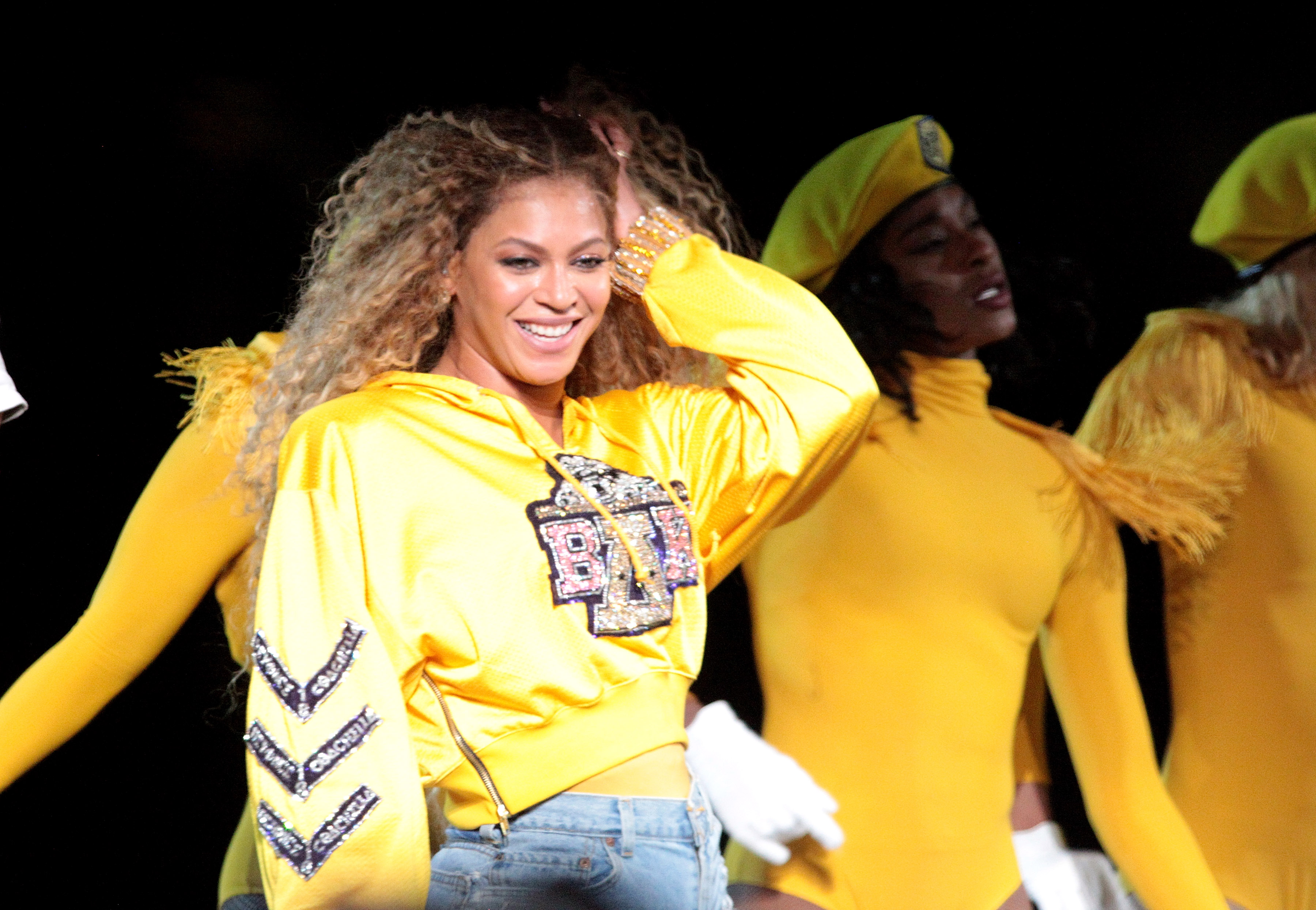 Beyonce KnowlesCoachella Music and Arts Festival, Weekend 1, Indio, USA - 14 Apr 2018