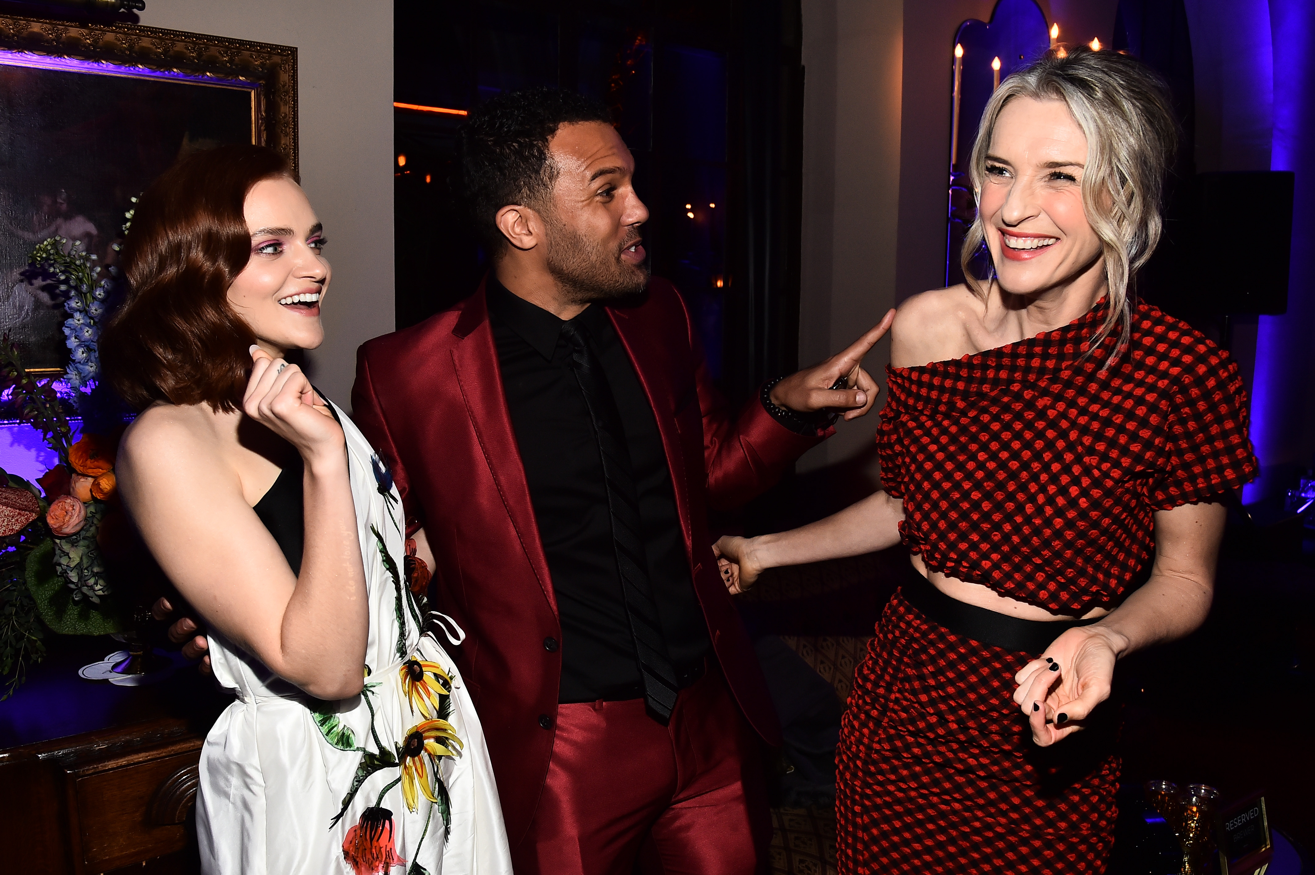 Madeline Brewer, O T Fagbenle and Ever Carradine'The Handmaid's Tale' TV show premiere, After Party, Los Angeles, USA - 19 Apr 2018
