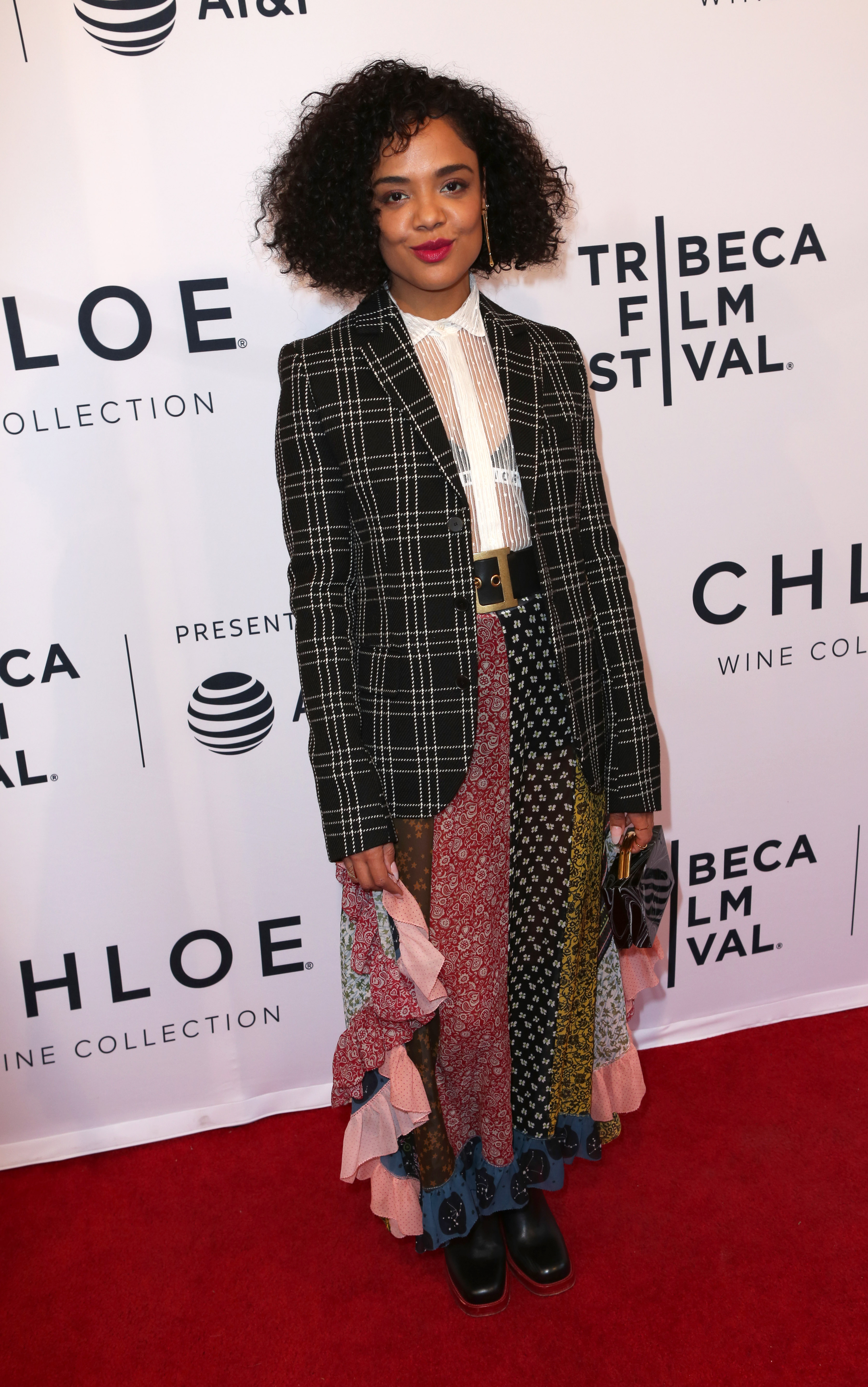 Tessa ThompsonUS Narrative Competition Premiere of LITTLE WOODS at the 2018 Tribeca Film Festival, New York, USA - 21 Apr 2018