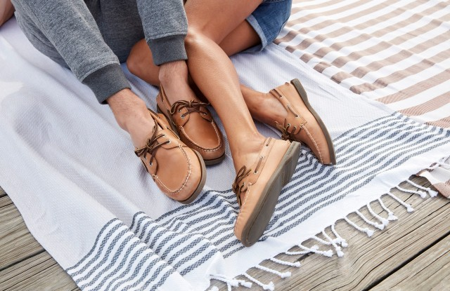 Sperry's new campaign.