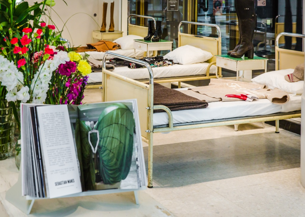 The A.F Vandevorst pop-up at Selfridges