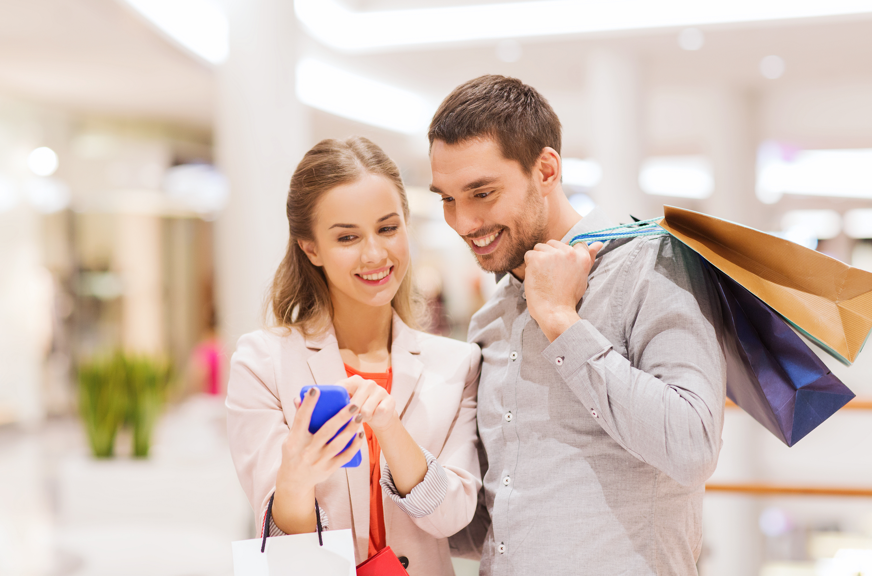 Consumers were upbeat again in April.