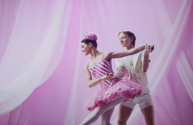 "Sarah Lane and Daniil Simkin in ""Whipped Cream."""