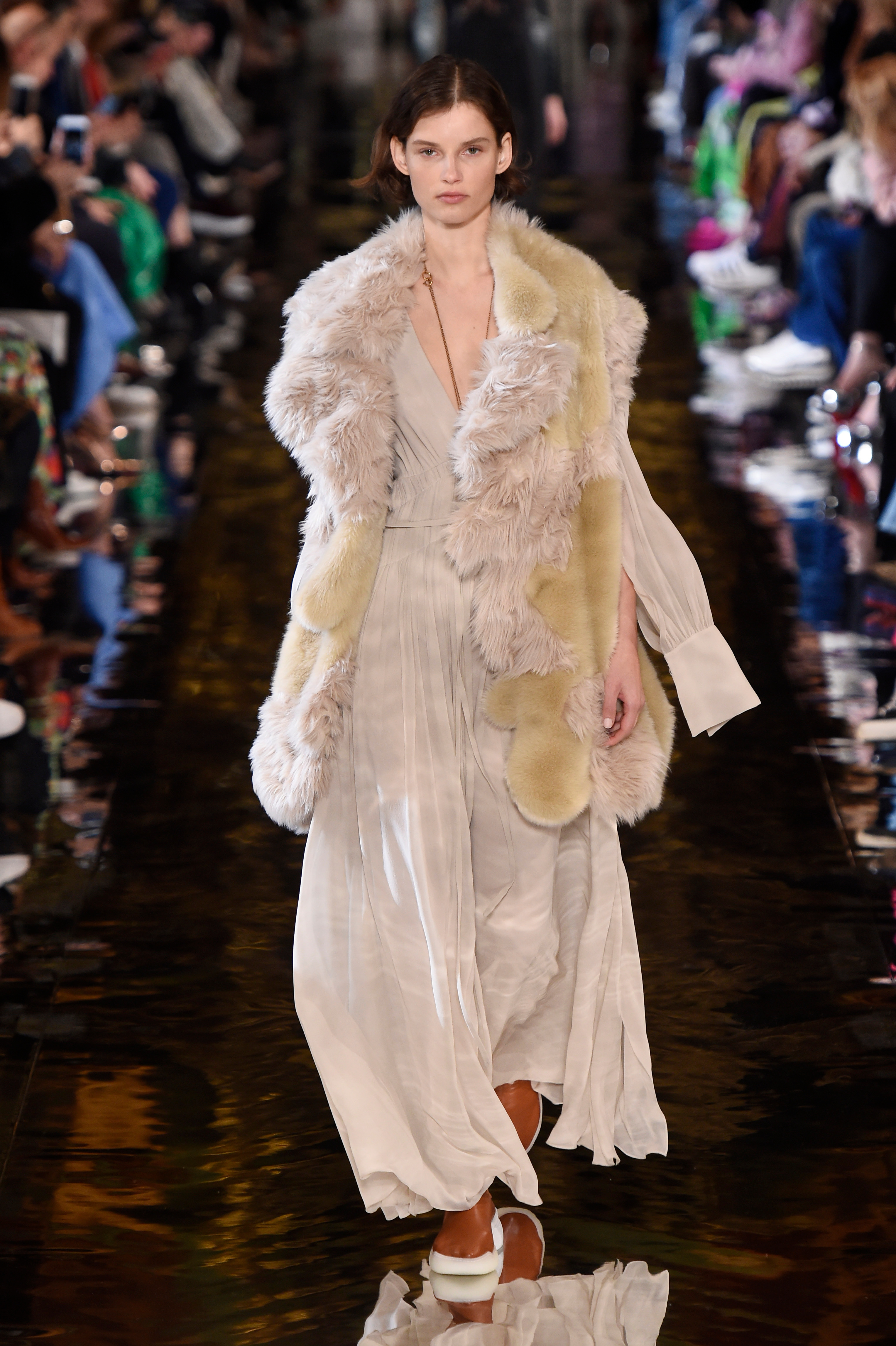 Model on the catwalkStella McCartney show, Runway, Fall Winter 2018, Paris Fashion Week, France - 05 Mar 2018