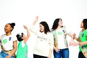 America Ferrera is a former Girl Scout and an ambassador for the campaign.