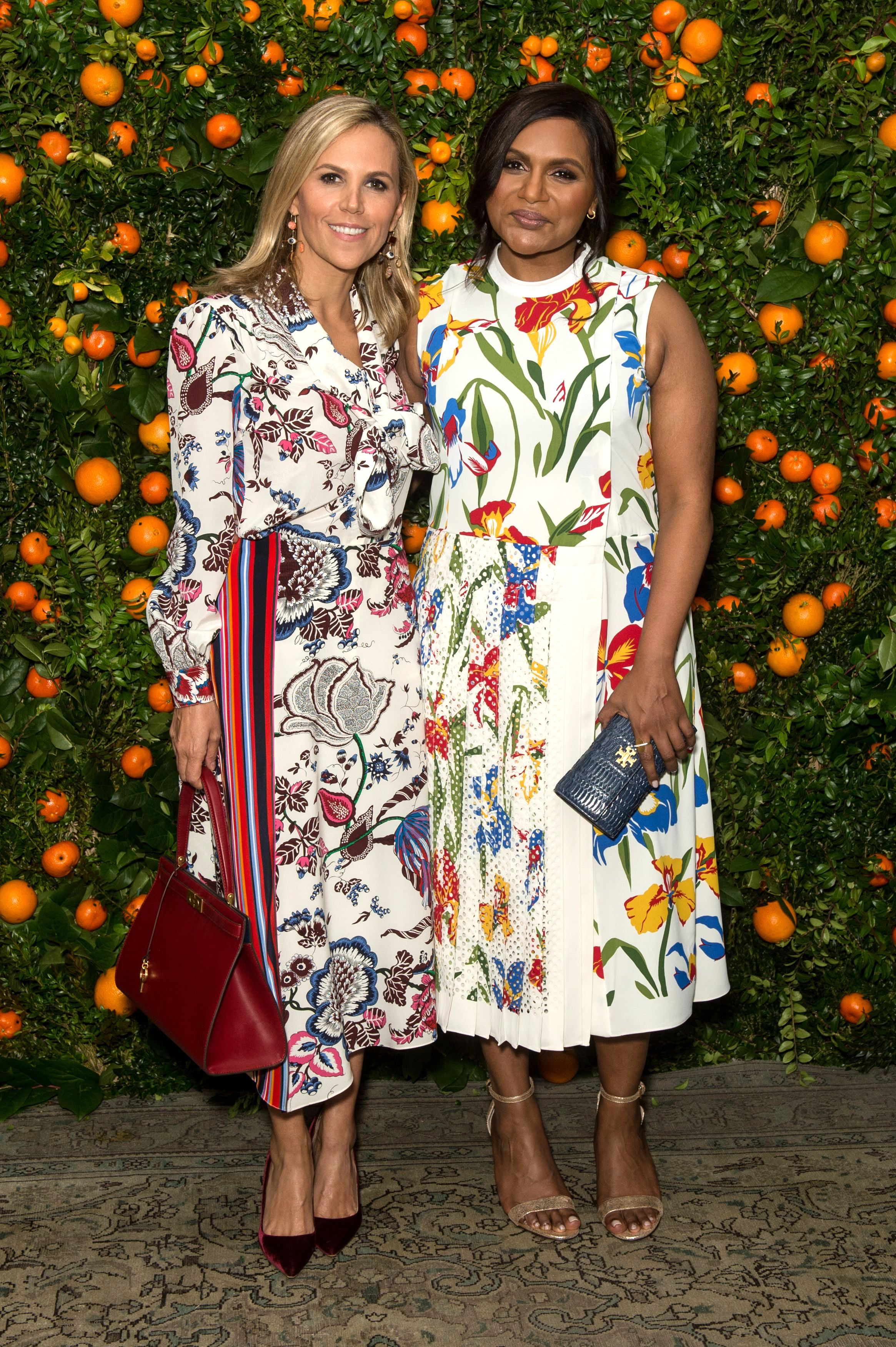 Tory Burch, Mindy Kaling