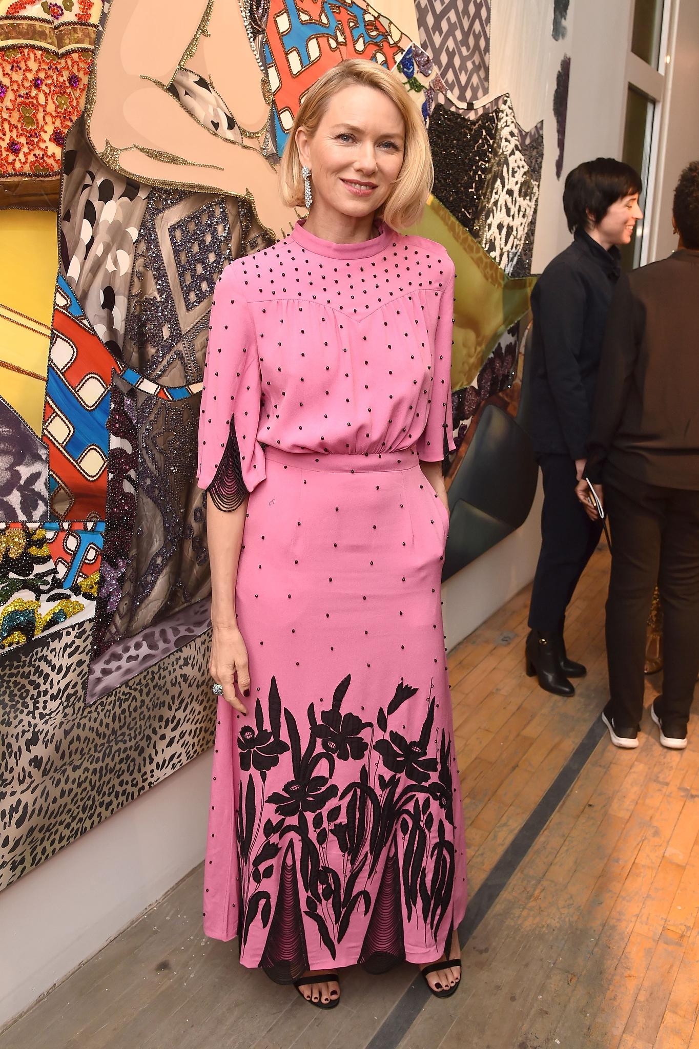 Naomi WattsTribeca Ball, New York, USA - 09 Apr 2018WEARING ATTICO