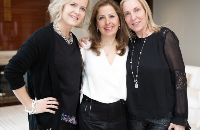 Kara Ross, Karine Ohana, Susan Rockefeller