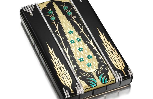 Cypress Tree vanity case, Van Cleef & Arpels, 1928