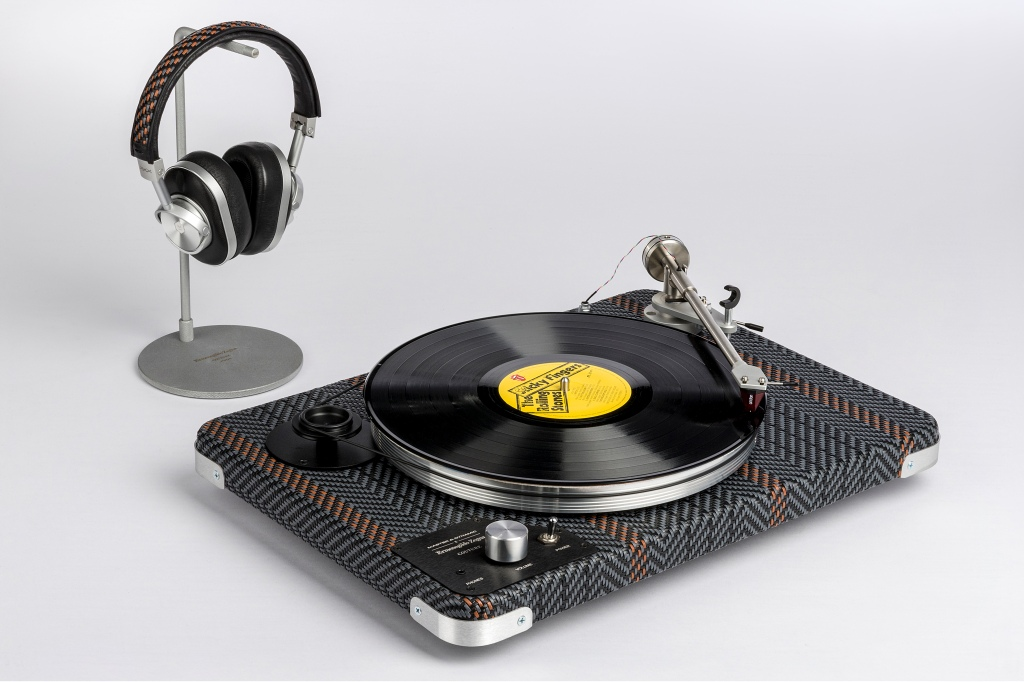 The Zegna Toyz record player.