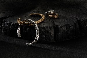 The line includes bracelets, rings and necklaces.
