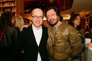Jean Marc Loubier and Olivier Zahm at Sonia Rykiel Pavé party