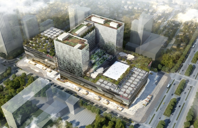 SKP Xian, designed by Sybarite Architects, is one of the latest moves.