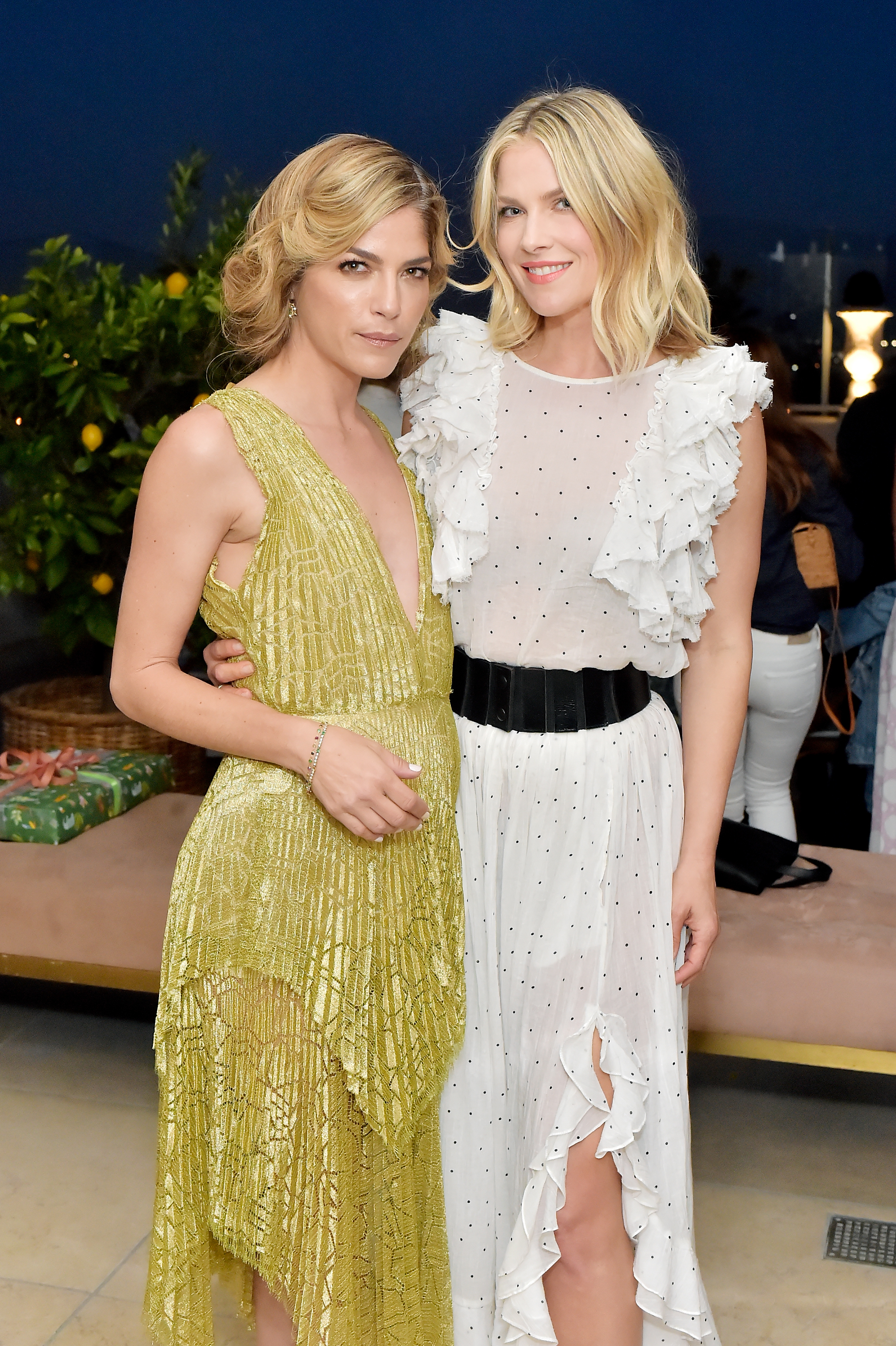 Selma Blair and Ali Larter attend Dinner in Celebration of the AERIN SS18 Collection by Williams Sonoma