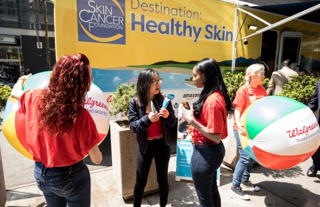 Walgreens pharmacists and beauty consultants are  traveling to educate about sun protection.