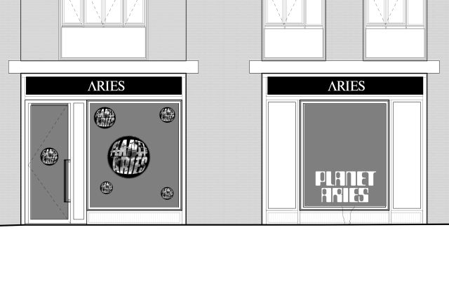The Planet Aries pop-up in London
