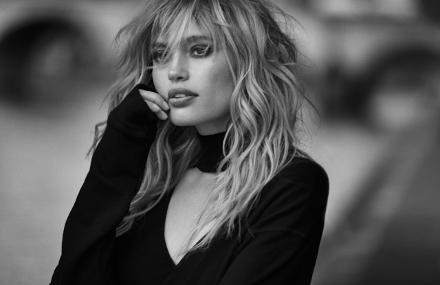 A shot from Peter Lindbergh's campaign.