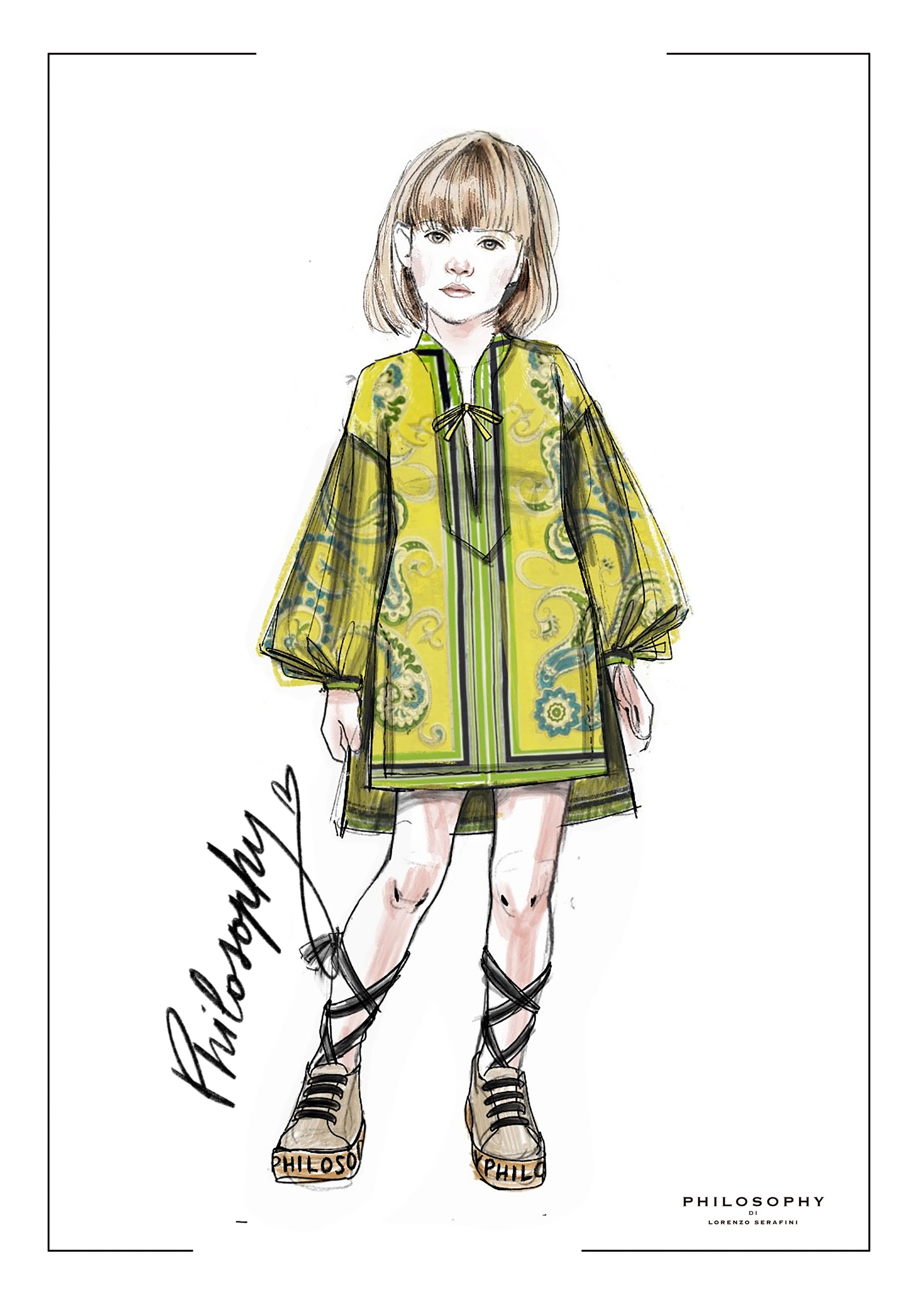 Philosophy by Lorenzo Serafini children's wear collection
