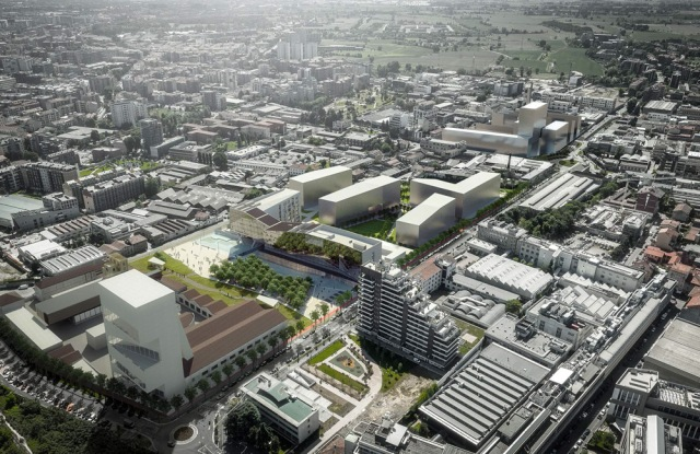 A rendering of the Symbiosis project in Milan's southern area.A rendering of the Symbiosis project.