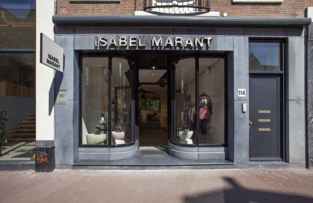Isabel Marant store in Amsterdam