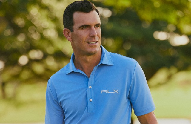 Billy Horschel in looks from his RLX capsule collection.
