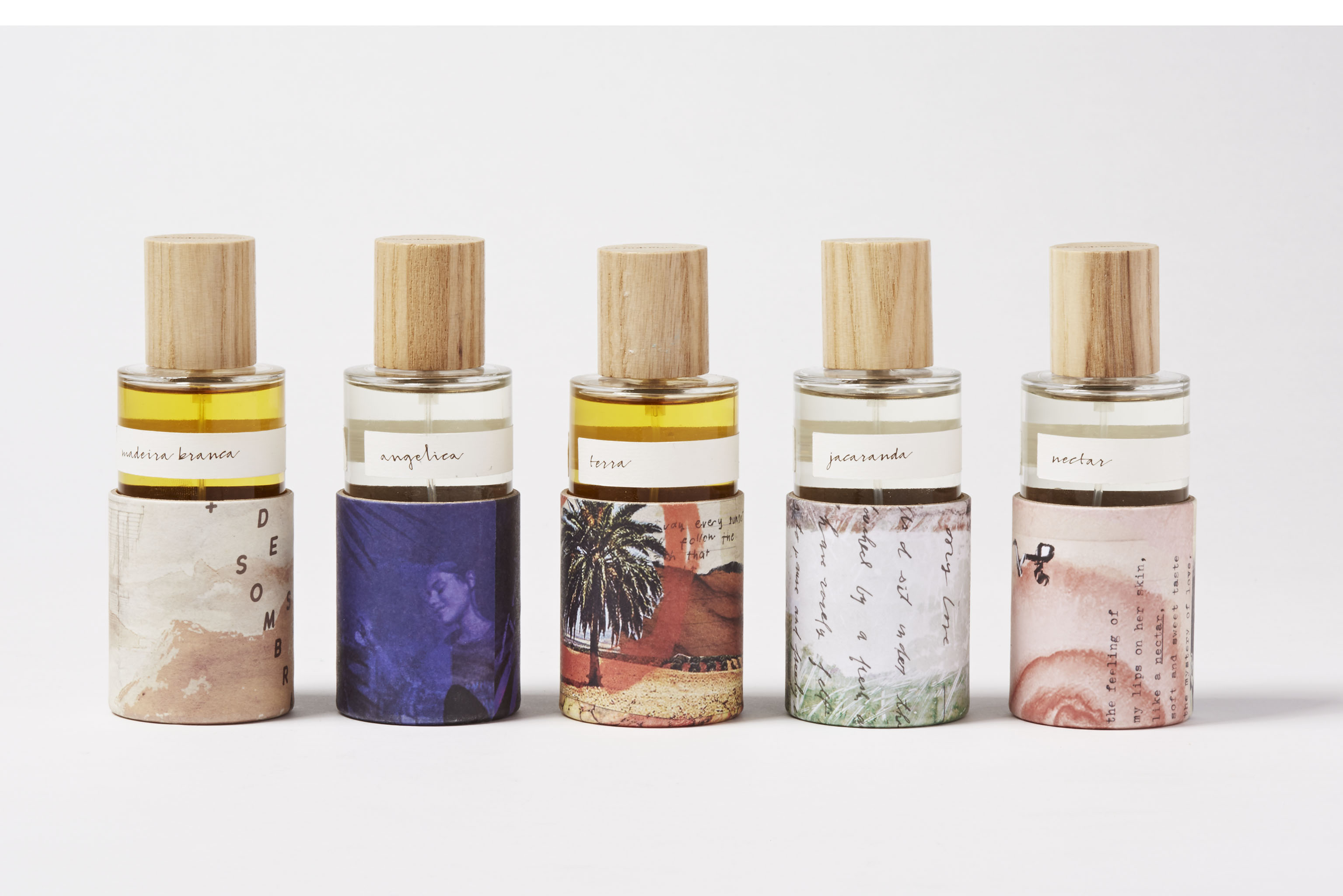 The Natura fragrance collections developed with the US