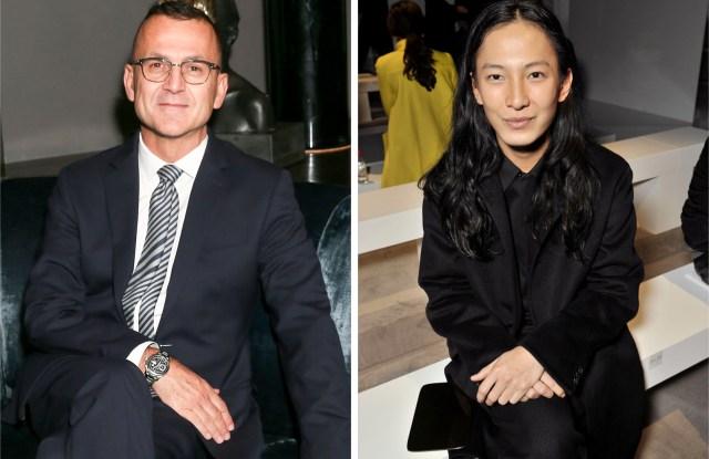 Steven Kolb and Alexander Wang
