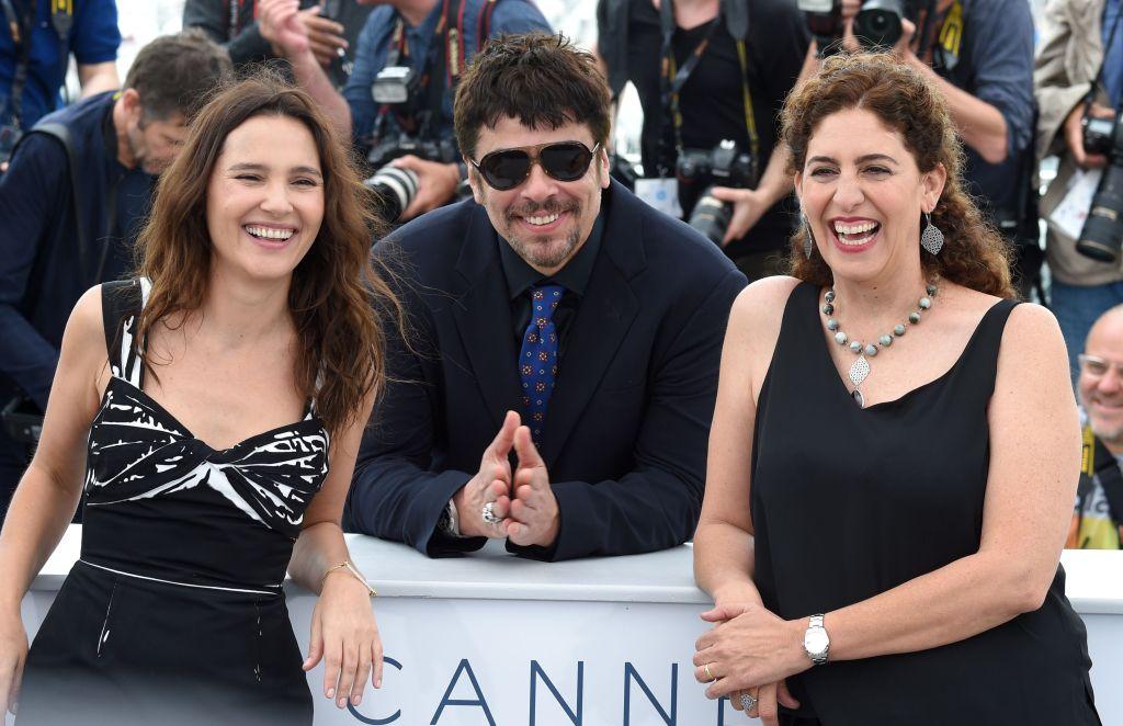 Virginie Ledoyen, Benicio Del Toro and Annemarie Jacir