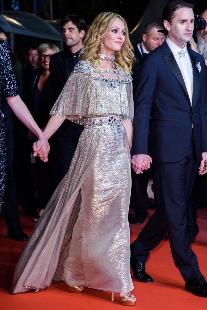 Vanessa Paradis at the premiere of 'Knife + Heart'