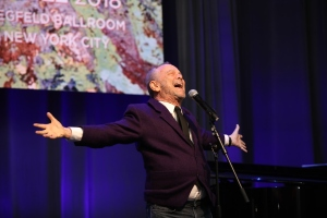 Joel Grey wowed the crowd at the event.