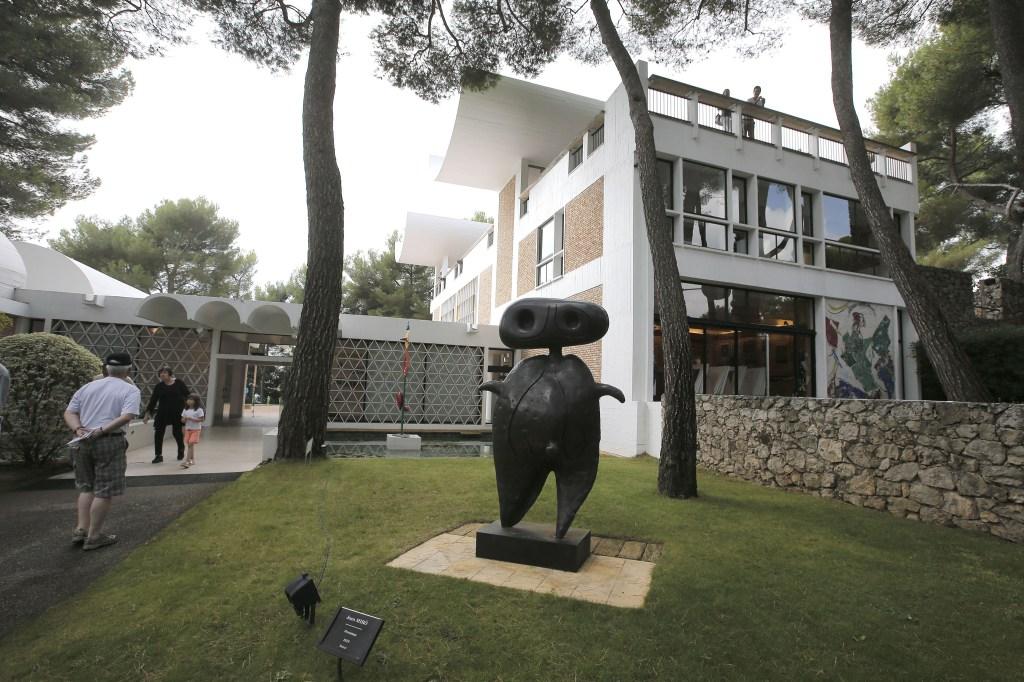 Fondation Maeght in Saint-Paul de Vence, France.