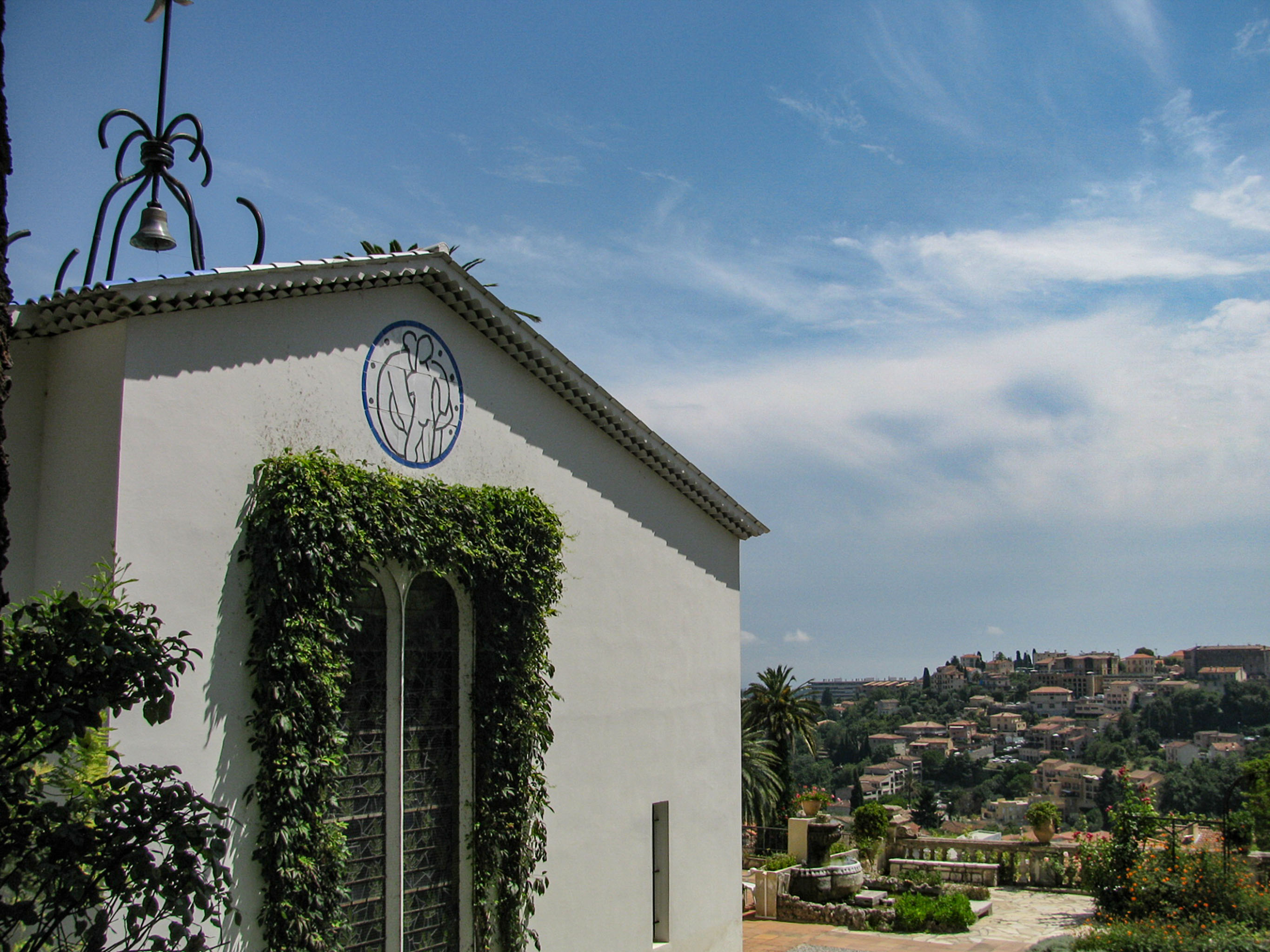 Chapel of the Rosary, designed by Henri Matisse in Vence, France.
