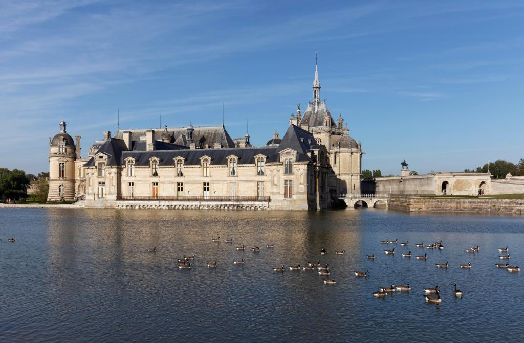 Château de Chantilly in Chantilly, France.