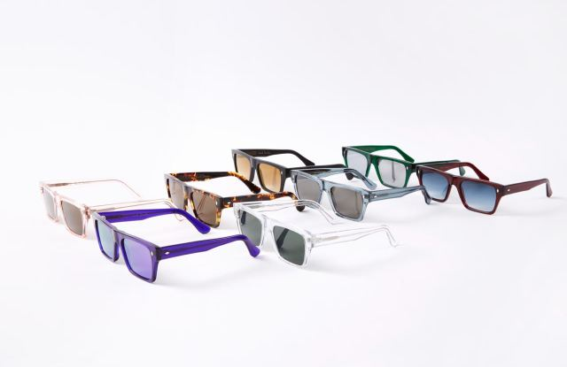 The Paul Smith eyewear collection in collaboration with Cutler and Gross