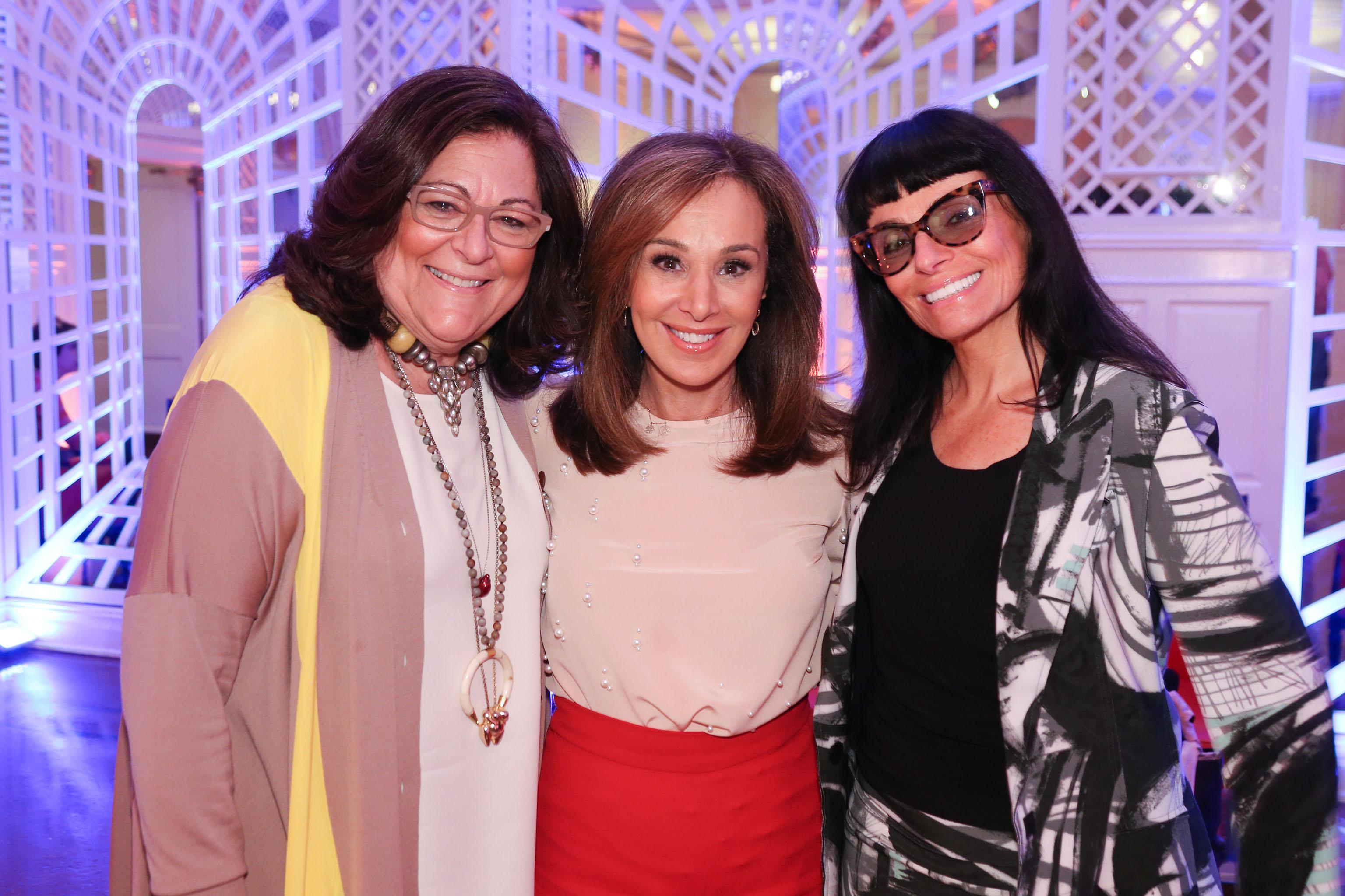 Fern Mallis, Rosanna Scotto, and Norma Kamali